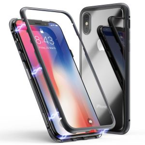 Magnetic Aluminum Case für iPhone X XS