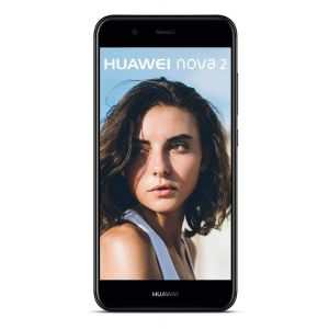 HUAWEI nova 2 Dual-SIM Smartphone (12,7 cm (5 Zoll) Touch-Display, 20 MP FrontKamera, 12 MP + 8 MP Dual-Kamera, 64 GB interner Speicher, Android 7.0) Schwarz