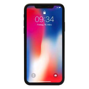 "Apple iPhone X 64GB Space Grau [14,7cm (5,8"") Super Retina HD Display, A11 Bionic, iOS 11, 12MP Dual]"