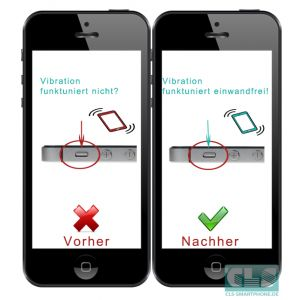 Vibrations Taste vom iPhone 5s austauschen | iPhone 5s Vibrations Taste Reparatur